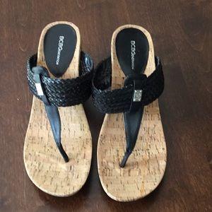 BCBG Genation Wedge Sandals